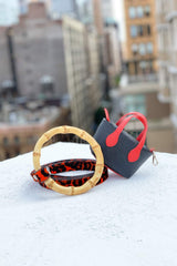 Red, durable pet accessories. Designed in New York, Crafted in Italy.