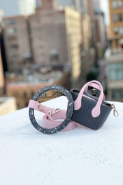 Durable pink pet accessories for small dogs.