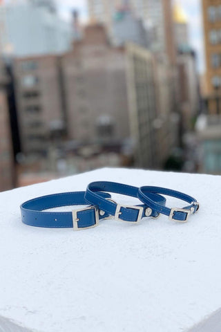 Water & Scratch resistant dog collars. Made with durable leather.