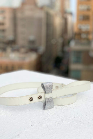 The Ben Leash by Shaya Pets. A leash made for your wedding.