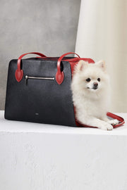 Ruby Red pet carrier by Shaya Pets.