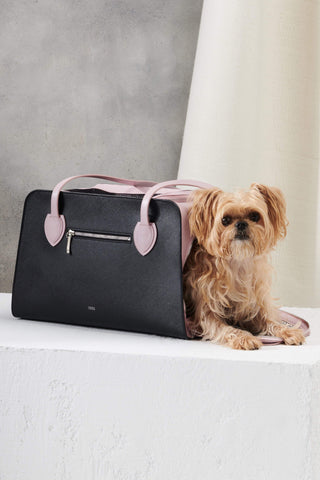 Pink Dog Bag for Small Dogs by Shaya Pets.
