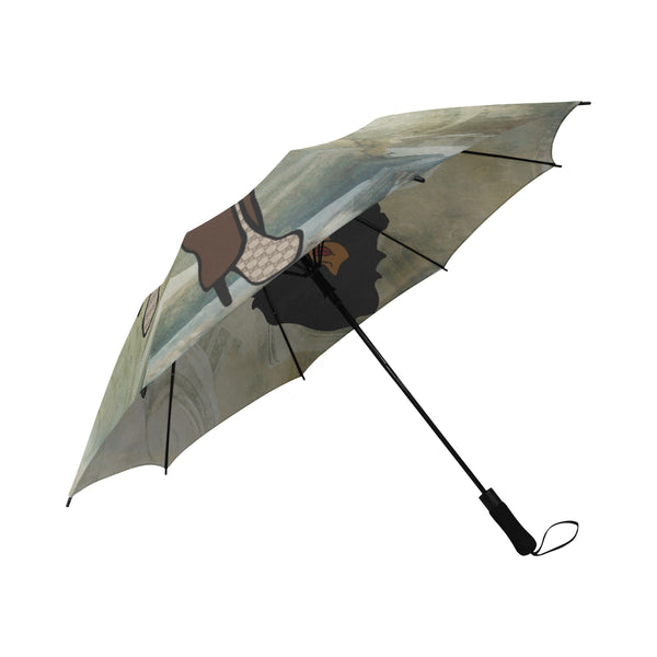Semi-Automatic Foldable Umbrella (Model U05)