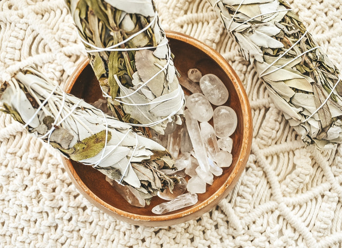 Lavender & White Sage Smudge Sticks