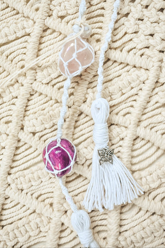 Macrame Crystal & Diffuser Hangers