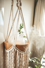 Load image into Gallery viewer, Macrame Plant & Essential Oil Diffuser Hanger