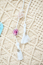 Load image into Gallery viewer, Macrame Crystal & Diffuser Hangers