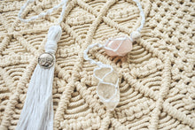 Load image into Gallery viewer, Macrame Crystal & Diffuser Hanger