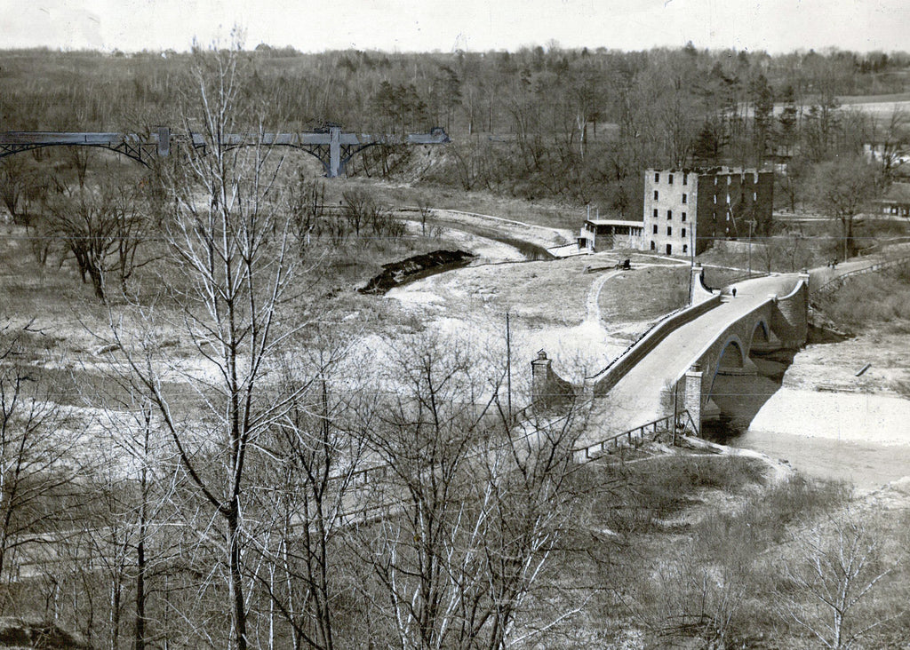 Humber River and Bridge 1923