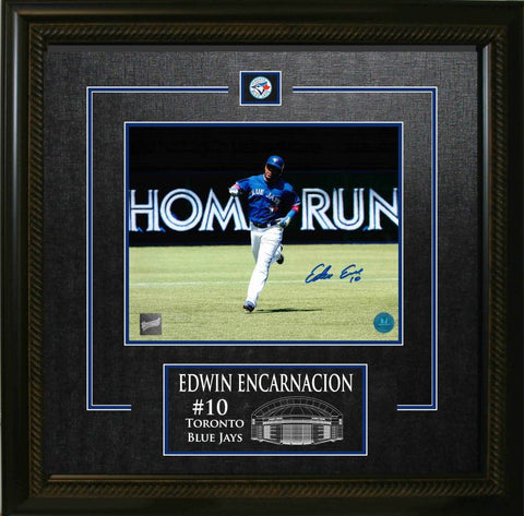 "Joe Carter Double 8""x10"" Photo Frame with Blue Jays Logo"