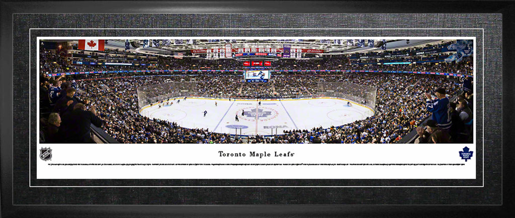 Toronto Maple Leafs Panoramic Arena View - Framed