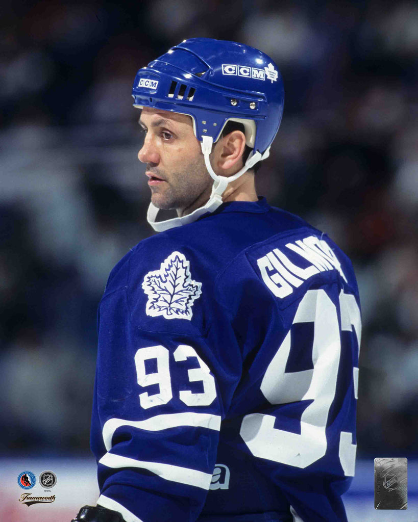 Doug Gilmour 8x10 Photo - Close Up Image