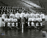 1932-33 Toronto Maple Leafs Team Photo at Maple Leaf Gardens