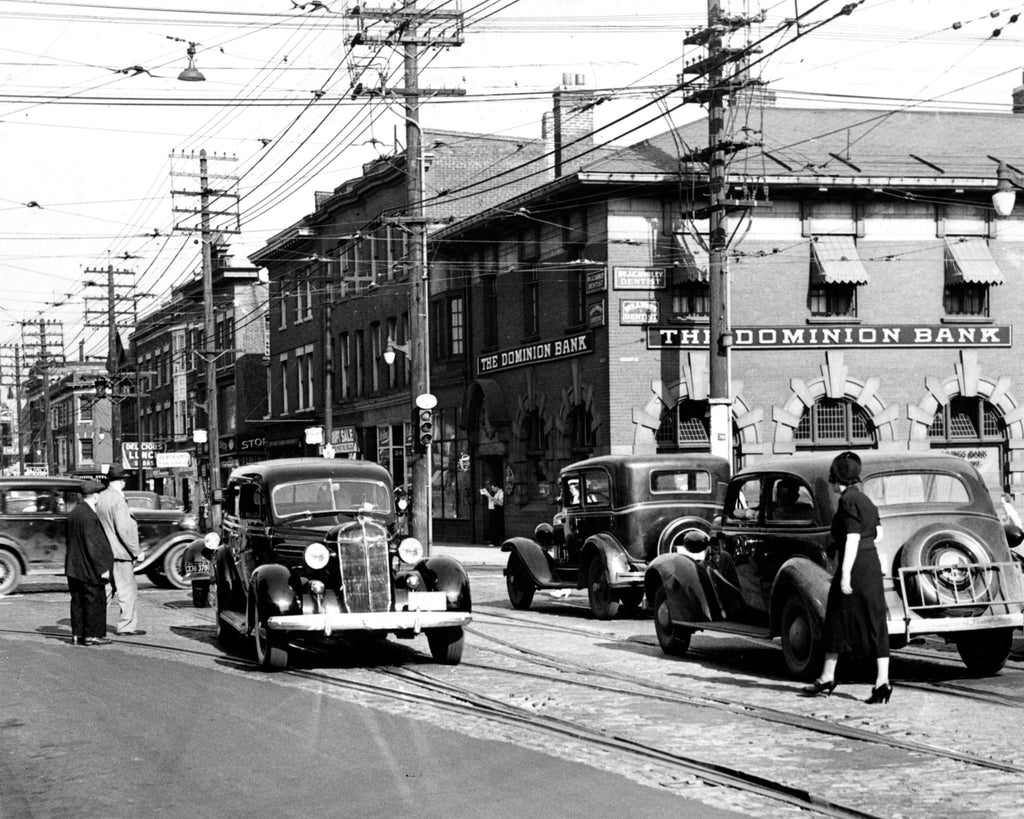 Bloor and Bathurst, 1937