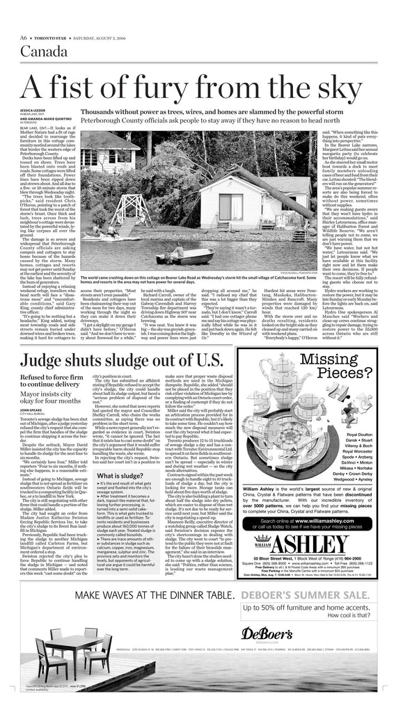 August 5, 2006 A6 page reprint