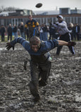 Brendan Kennedy during Mud Bowl recreation photograph
