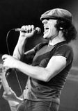 Brian Johnson, 1980 photograph