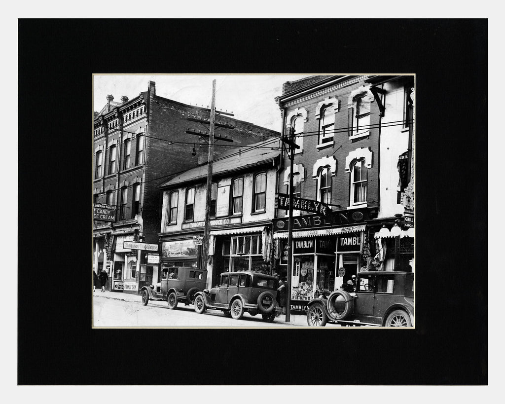 Image of Matted: Yonge & Carlton, 1928 photograph