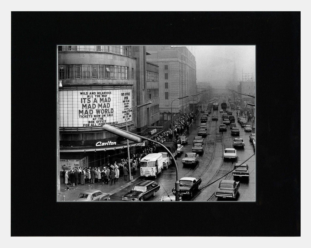 Matted: Carlton Theatre, 1965