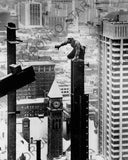 Construction of the TD Bank Tower photograph