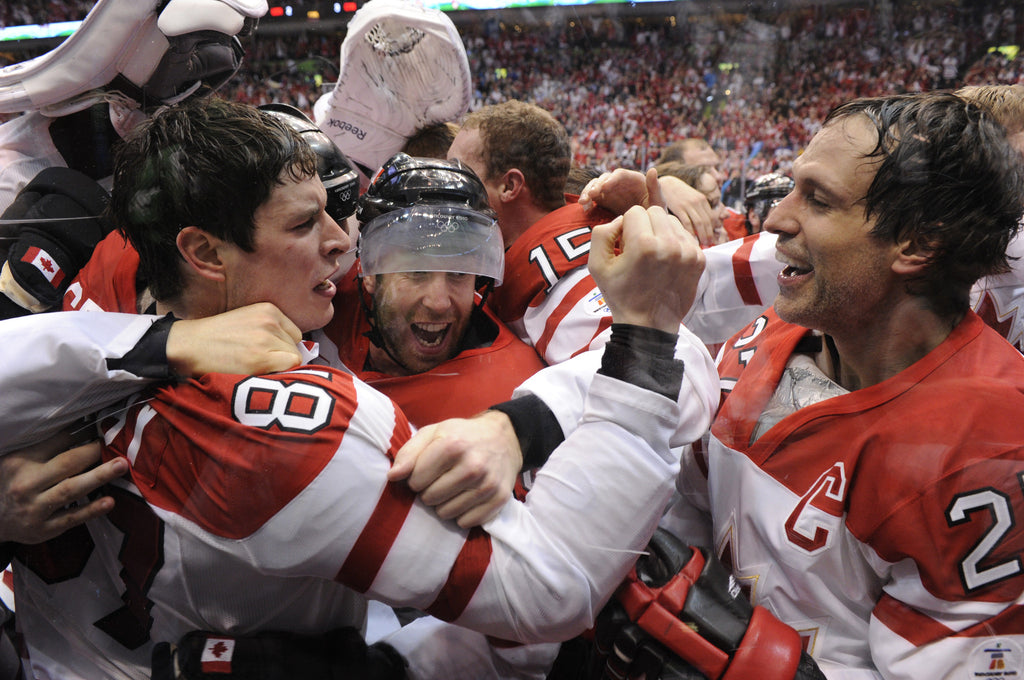 Sidney Crosby and Team Canada Win Gold 2010