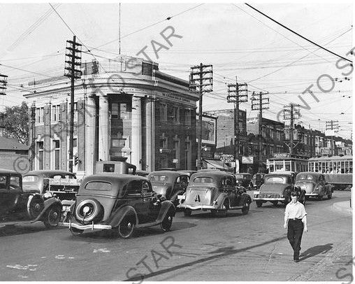Danforth Avenue photograph