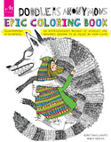 Doodlers Anonymous Epic Coloring Book