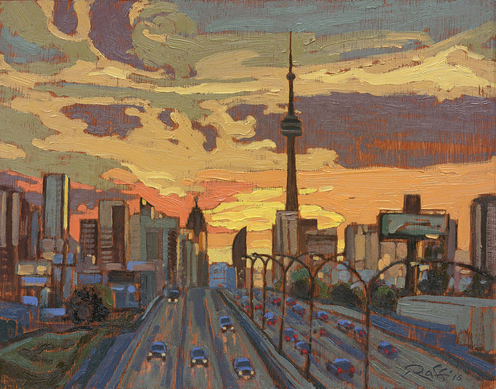 Raffi - Dufferin Bridge Sunrise