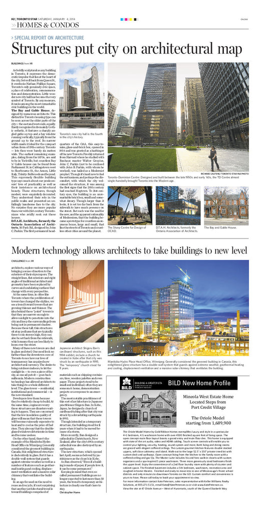 Special Report on Architecture
