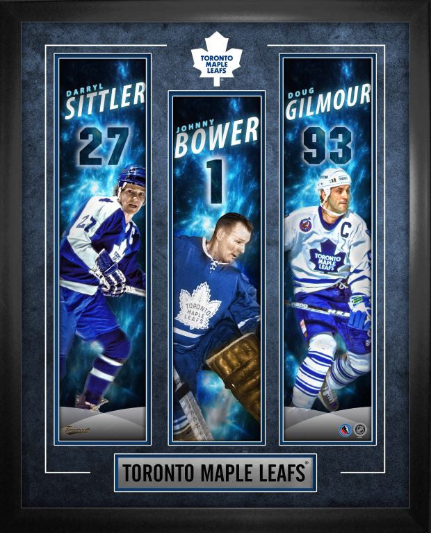 Toronto Maple Leafs Hockey Hall of Fame Banner Frame