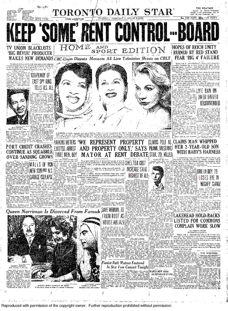 Front Page February 2, 1954
