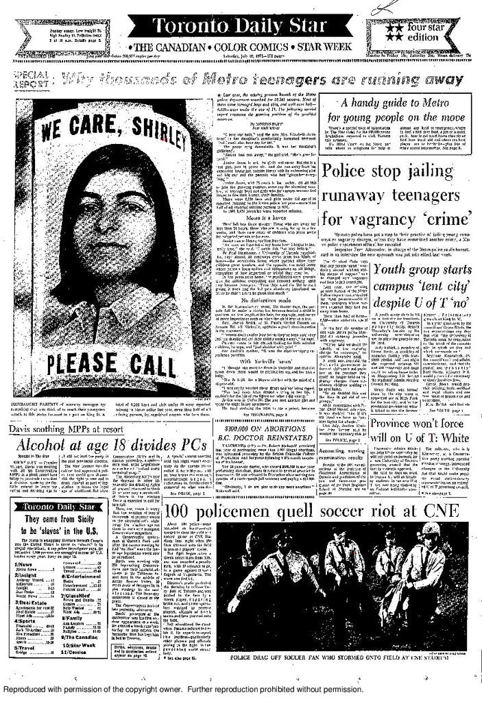 Front Page July 10, 1971