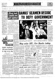 Toronto Star Front Page, October 23, 1963