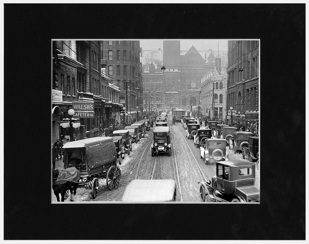 Image of Matted: Bay Street Traffic photograph