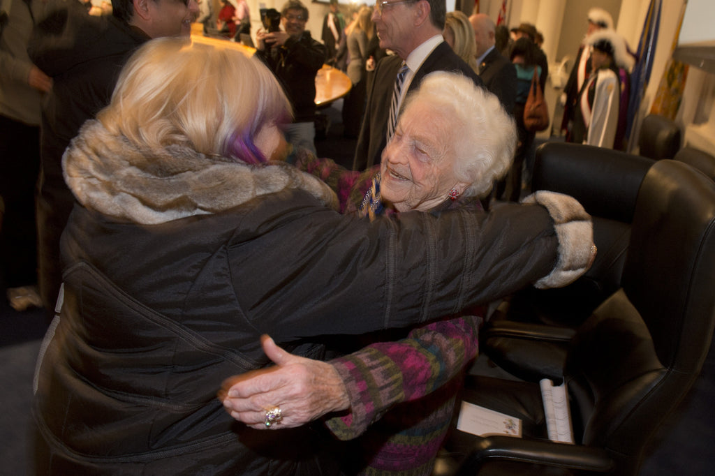 Hazel McCallion holds the annual Mayor's New Year's Levee