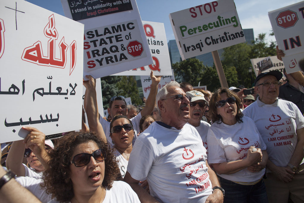 Iraqi Christians Silent March