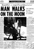 Man Walks On Moon 1969