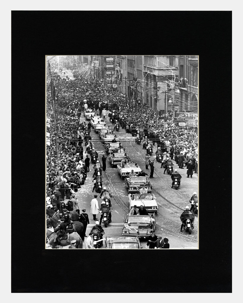 Image of Matted: Stanley Cup Parade photograph