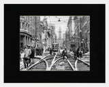 Image of Matted: Bay and Wellington, 1925 photograph