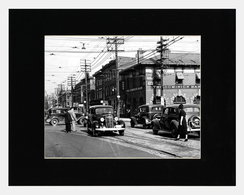 Image of Bloor and Bathurst, 1937 photograph