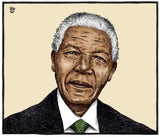 Nelson Mandela Editorial Cartoon from December 6, 2013