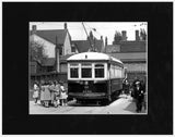 Image of Matted: Keele and Dundas Streetcar photograph
