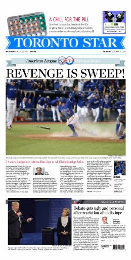 Jays Sweep 2016
