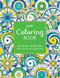 Posh Coloring Book: Artful Designs For Fun & Relaxation