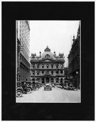 Matted: Bank of Commerce, 1930