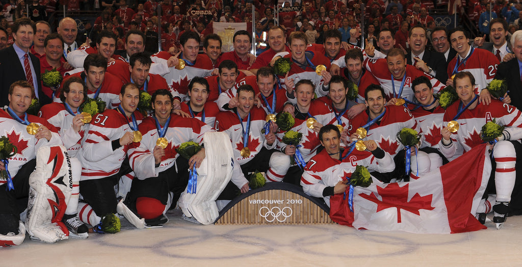Canadian Men's Hockey Team Win Gold 2010 - Team Photo