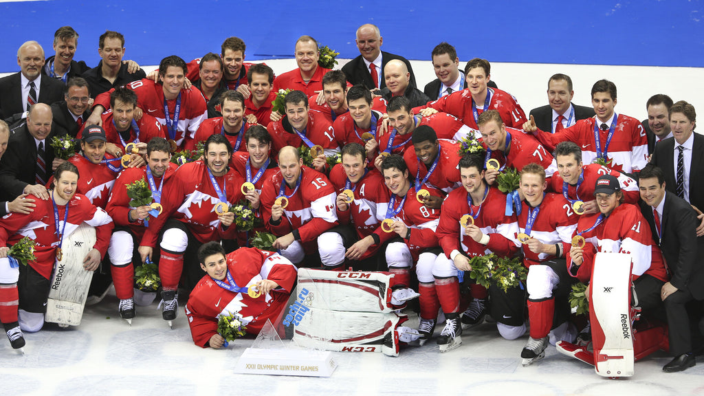 Image of Team Canada - Men's Hockey Wins Gold 2014 photograph