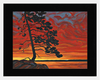 Matted: Raffi's Cottage Sunset