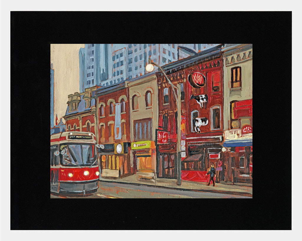 Matted: Raffi's King Street West