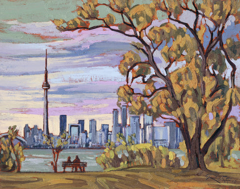SALE! Matted: Raffi's High Park Cherry Blossoms